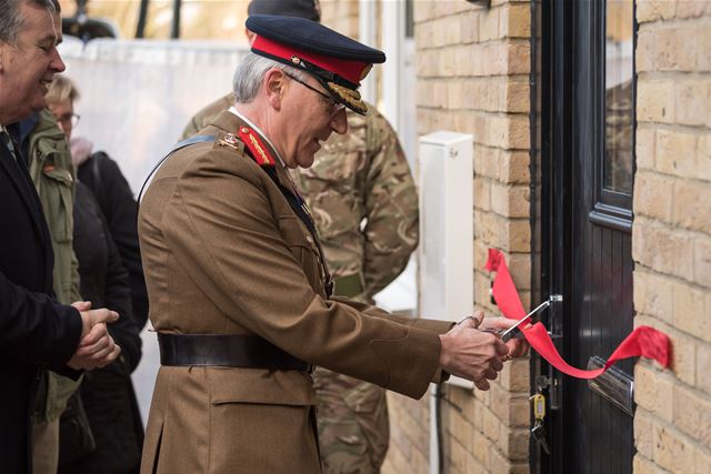 TOP MILITARY CHARITY OPENS HOMES FOR CHRISTMAS FOR VETERANS IN LONDON FUNDED BY LIBOR FINES